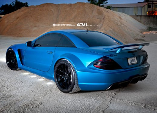 Mercedes SL65 AMG Black Series tuning by ADV - Foto 11 di 11