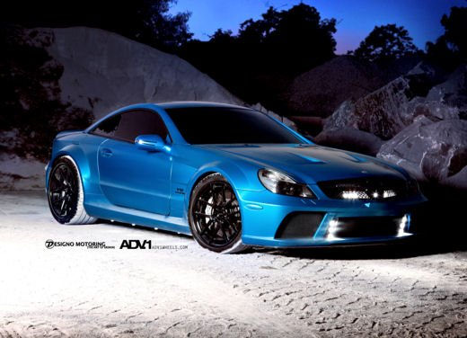Mercedes SL65 AMG Black Series tuning by ADV - Foto 1 di 11