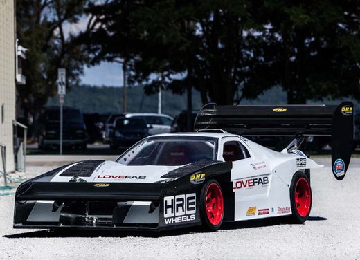 Honda NSX da 850 CV per la  Pikes Peak International Hill Climb 2012