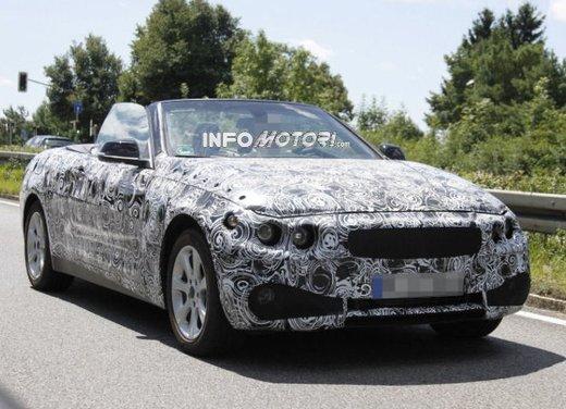 Foto spia della nuova BMW Serie 4 Cabrio - Foto 2 di 20