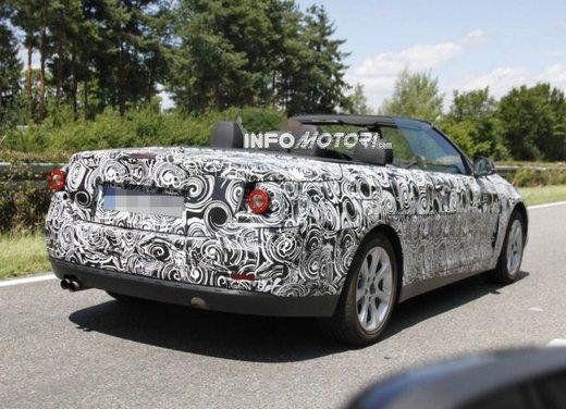 Foto spia della nuova BMW Serie 4 Cabrio - Foto 4 di 20