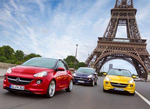 Opel Adam, al Salone di Parigi l'anteprima mondiale della nuova 3 porte Opel