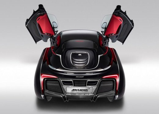 McLaren One-Off x-1 edizione limitata su base MP4-12 C - Foto 3 di 20
