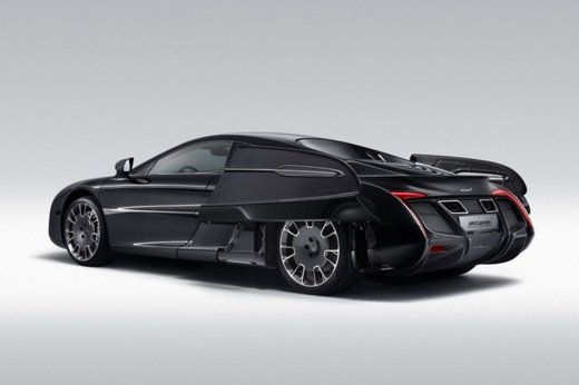 McLaren One-Off x-1 edizione limitata su base MP4-12 C - Foto 16 di 20