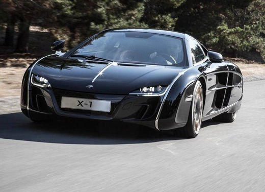 McLaren One-Off x-1 edizione limitata su base MP4-12 C - Foto 1 di 20