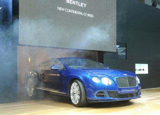 Bentley con tre novità all'Auto Show di Mosca 2012
