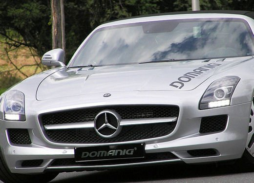Mercedes SLS AMG Roadster by Domanig Autodesign