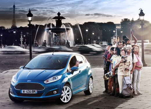 Nuova Ford Fiesta 2013 Titanium prezzi da 13.250 euro - Foto 13 di 15