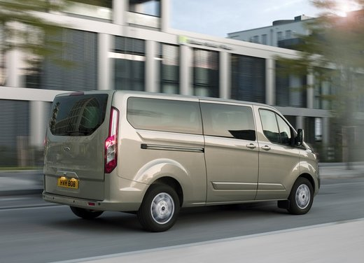 Ford Transit e Tourneo Custom: prova su strada - Foto 19 di 19
