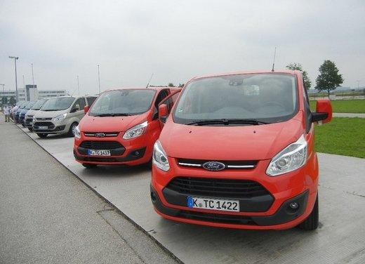 Ford Transit e Tourneo Custom: prova su strada