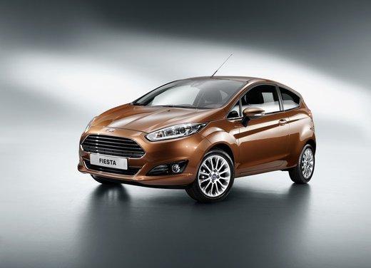 Nuova Ford Fiesta 2013 Titanium prezzi da 13.250 euro - Foto 2 di 15