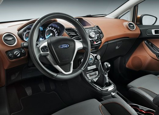 Nuova Ford Fiesta 2013 Titanium prezzi da 13.250 euro - Foto 9 di 15