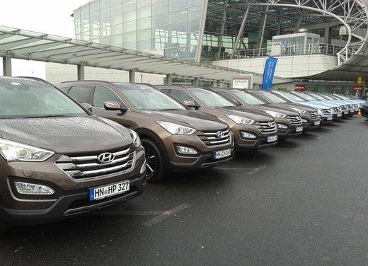 Nuova Hyundai Santa Fe: prova su strada della terza generazione