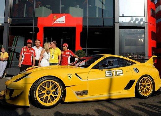 Ferrari 599XX Evo consegnata a Benjamin Sloss di Google