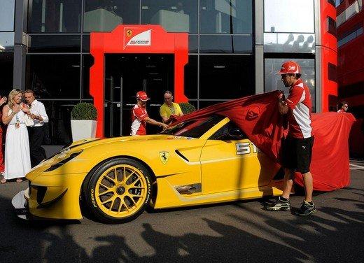 Ferrari 599XX Evo consegnata a Benjamin Sloss di Google - Foto 7 di 8