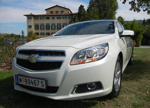 Chevrolet Malibu, prova su strada della berlina americana