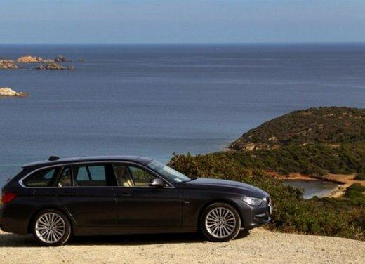 BMW Serie 3 Touring: test drive della nuova generazione - Foto 5 di 19