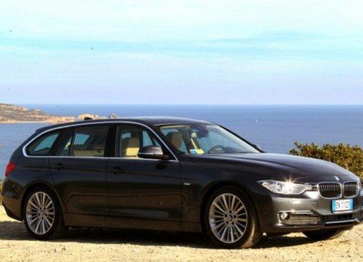 BMW Serie 3 Touring: test drive della nuova generazione - Foto 7 di 19