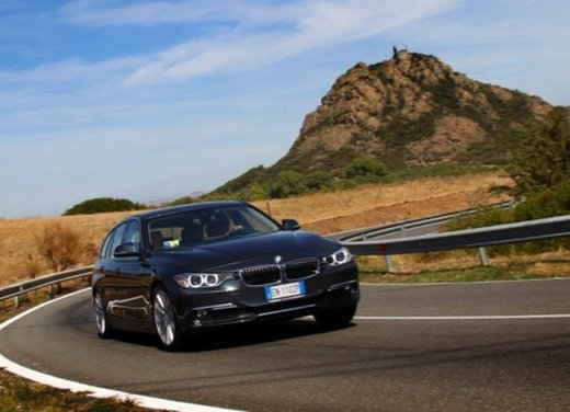BMW Serie 3 Touring: test drive della nuova generazione - Foto 8 di 19
