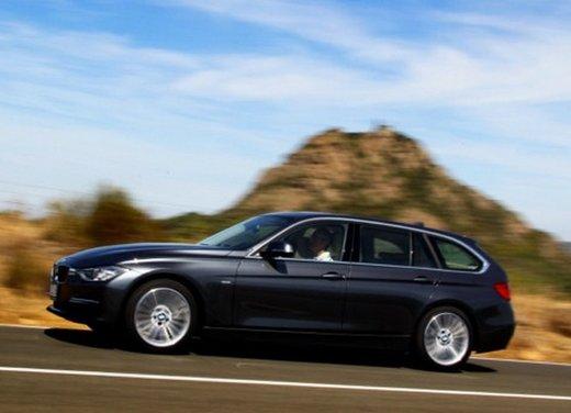 BMW Serie 3 Touring: test drive della nuova generazione - Foto 9 di 19