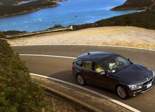 BMW Serie 3 Touring: test drive della nuova generazione - Foto 10 di 19