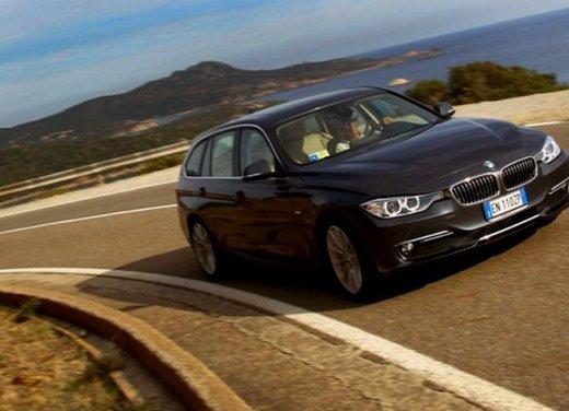 BMW Serie 3 Touring: test drive della nuova generazione - Foto 12 di 19