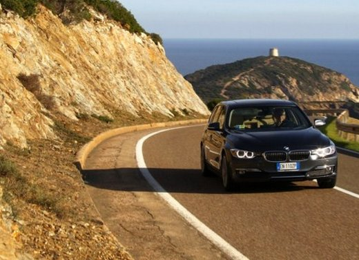 BMW Serie 3 Touring: test drive della nuova generazione - Foto 13 di 19