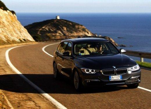 BMW Serie 3 Touring: test drive della nuova generazione - Foto 14 di 19