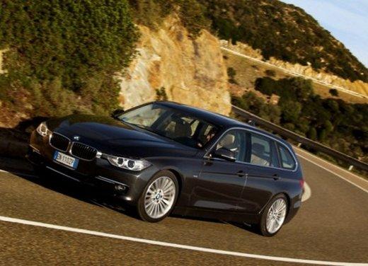 BMW Serie 3 Touring: test drive della nuova generazione - Foto 17 di 19