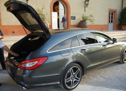 Mercedes CLS Shooting Brake: test drive della lussuosa wagon tedesca - Foto 8 di 20