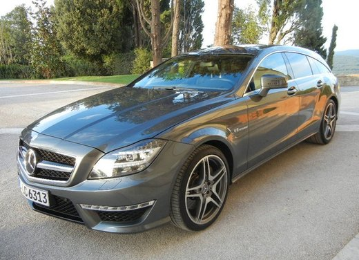Mercedes CLS Shooting Brake: test drive della lussuosa wagon tedesca