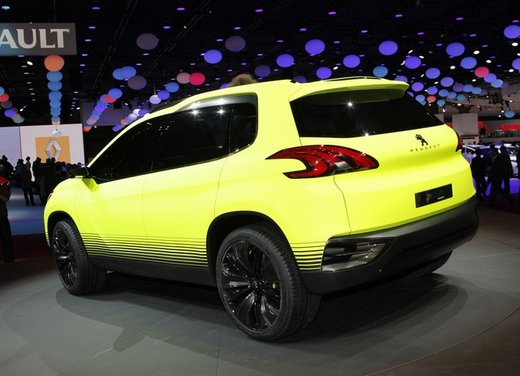 Peugeot 2008 Concept - Foto 5 di 17