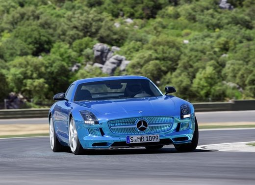 Mercedes SLS AMG Coupé Electric Drive - Foto 19 di 21