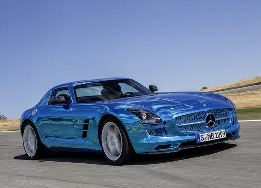 Mercedes SLS AMG Coupé Electric Drive - Foto 17 di 21