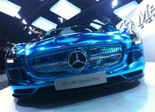 Mercedes SLS AMG Coupé Electric Drive - Foto 16 di 21