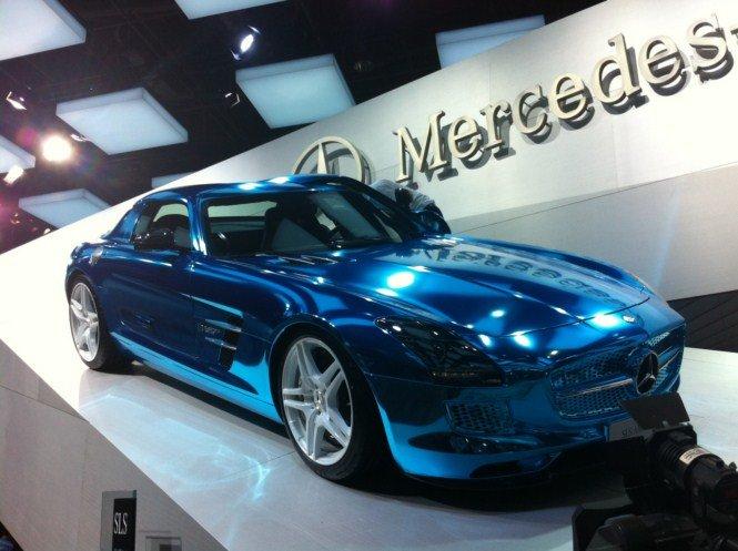 Tutte le auto elettriche ed ecologiche al Salone di Parigi 2012