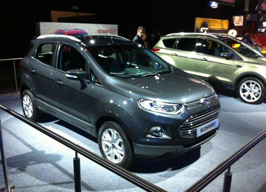 Ford Fiesta SUV al debutto come Ford EcoSport - Foto 14 di 15