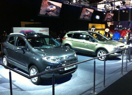 Ford Fiesta SUV al debutto come Ford EcoSport - Foto 15 di 15