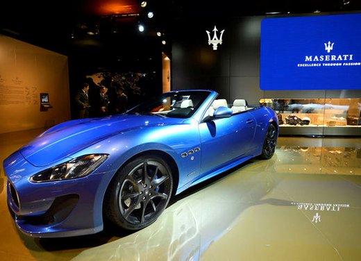 Nuova Maserati GranCabrio Sport