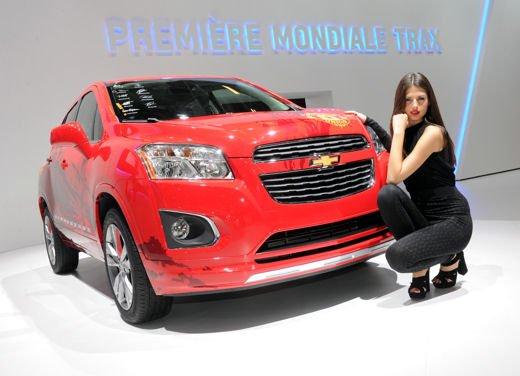 Chevrolet Trax, la cugina della Opel Mokka è in arrivo nella primavera del 2013