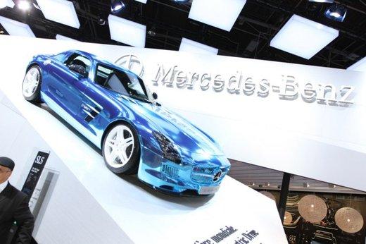 Mercedes SLS AMG Coupé Electric Drive - Foto 1 di 21
