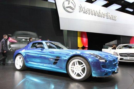 Mercedes SLS AMG Coupé Electric Drive - Foto 4 di 21