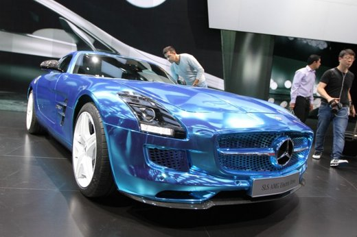 Mercedes SLS AMG Coupé Electric Drive - Foto 5 di 21