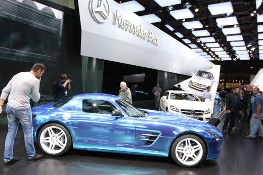 Mercedes SLS AMG Coupé Electric Drive - Foto 6 di 21