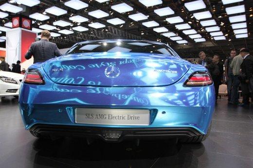 Mercedes SLS AMG Coupé Electric Drive - Foto 8 di 21