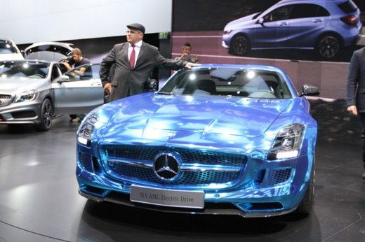 Mercedes SLS AMG Coupé Electric Drive - Foto 9 di 21