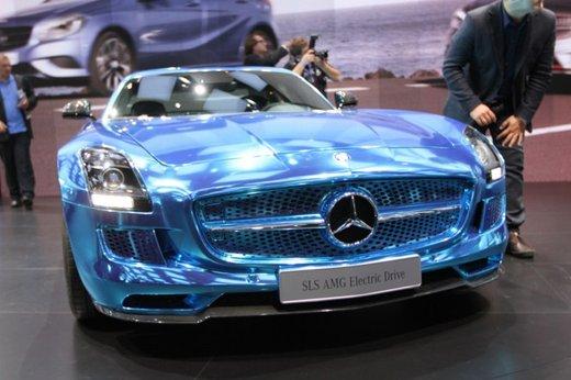 Mercedes SLS AMG Coupé Electric Drive - Foto 10 di 21