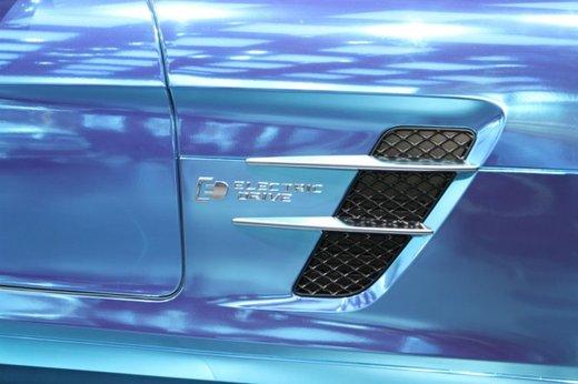 Mercedes SLS AMG Coupé Electric Drive - Foto 12 di 21