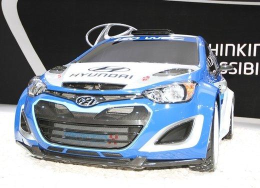 Hyundai i20 WRC nuovi test per il mondiale Rally 2014 - Foto 8 di 22