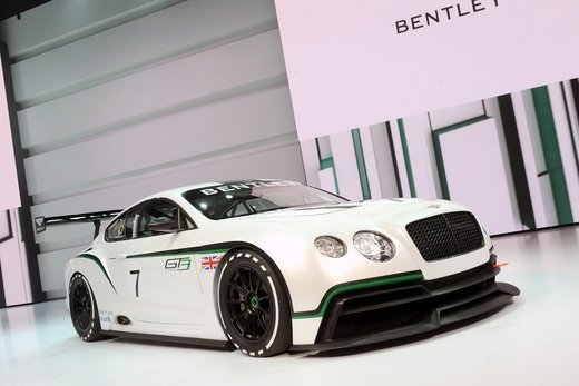Bentley Continental GT3 - Foto 1 di 10